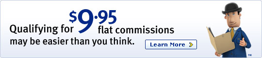 Qualifying for $9.95 flat commissions may be easier than you think