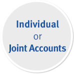 Individual or Joint Accounts
