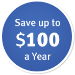 Save up to $100 a year